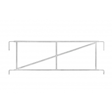 3/4 Handrail Frame For Sale Online - Direct Scaffolding Supplies