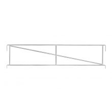 Side Handrail Frame For Sale Online - Direct Scaffolding Supplies